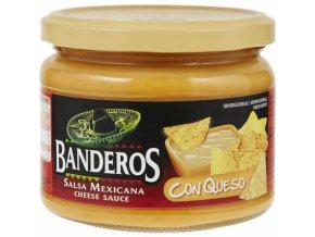CON QUESO salsa Banderos