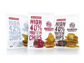 proteinove chipsy nutrend
