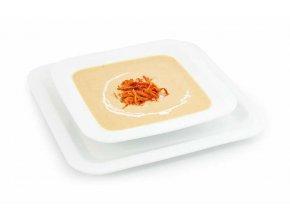 Krémová polievka s kuracou príchuťou