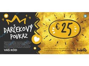 lowcarb darcekovy 25 eurovy poukaz