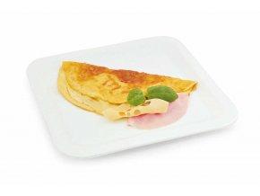 Omeleta so slaninovo-syrovou príchuťou