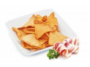 Slaninové tortilla chipsy