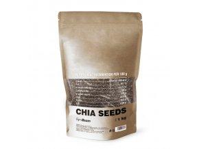 Chia semienka 1kg  GymBeam