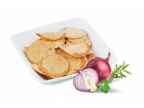 Chipsy s príchuťou smotany a cibule