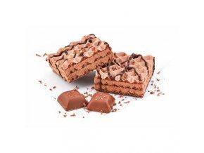 Vafle s čokoládovou príchuťou