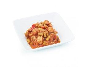 Šalát s kuracím mäsom