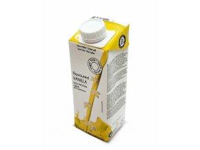 Mliečny nápoj s vanilkovou príchuťou