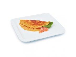 Omeleta s príchuťou lososa