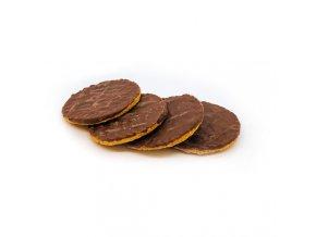 Guľaté sušienky polomáčané