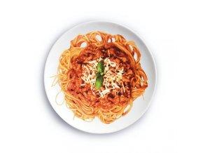 Špagety s boloňskou omáčkou - hotové jedlo