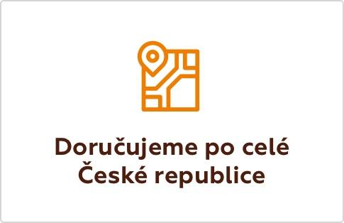 Doručujeme po celé České republice