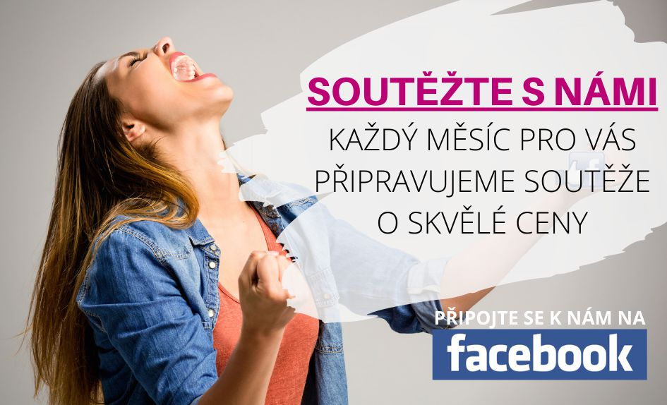 Soutěžte s námi na FaceBooku