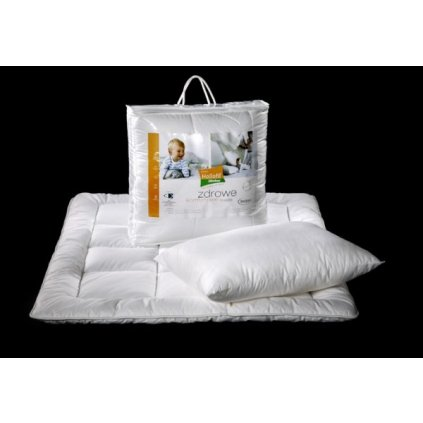 Peřinka a polštář Hollofil ® Allerban 135x100 cm