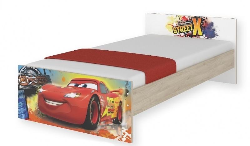 Nell Dětská postel Disney 180/90 cm - Auta