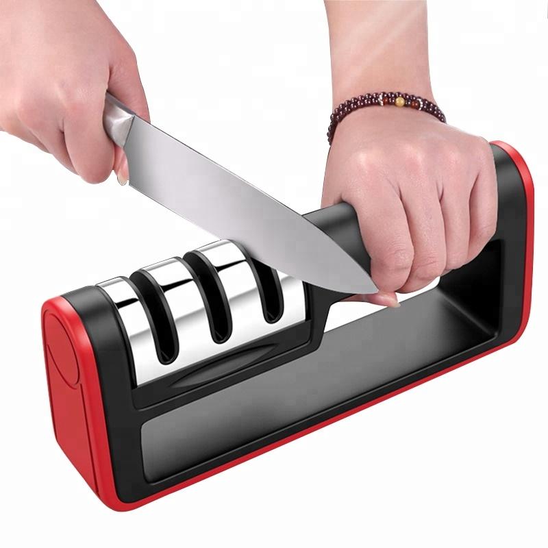 Luc Profesionální kuchyňský brousek na nože - 3 v 1