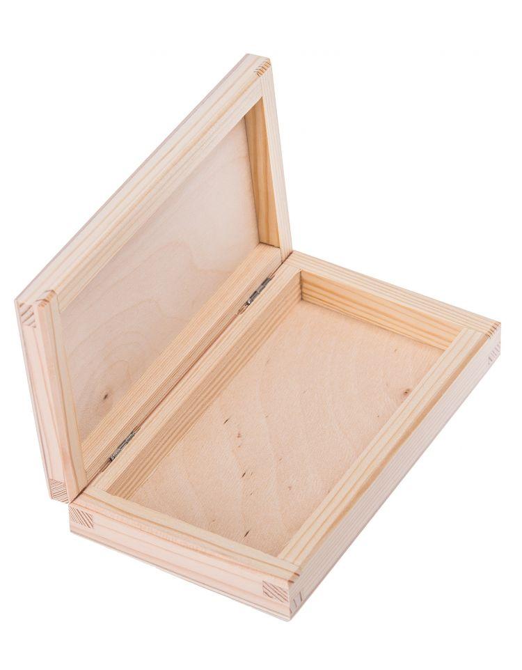 Dřevěná krabička 10,2x18x3,5