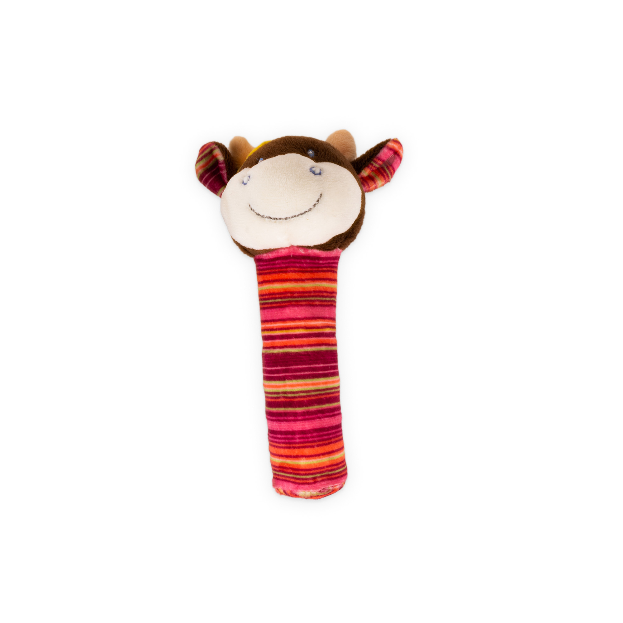 Bobobiz Pískací hračka - kravička