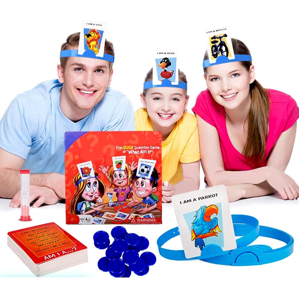 Babycom Společenská hra - Hádej kdo jsi - Angličtina pro děti