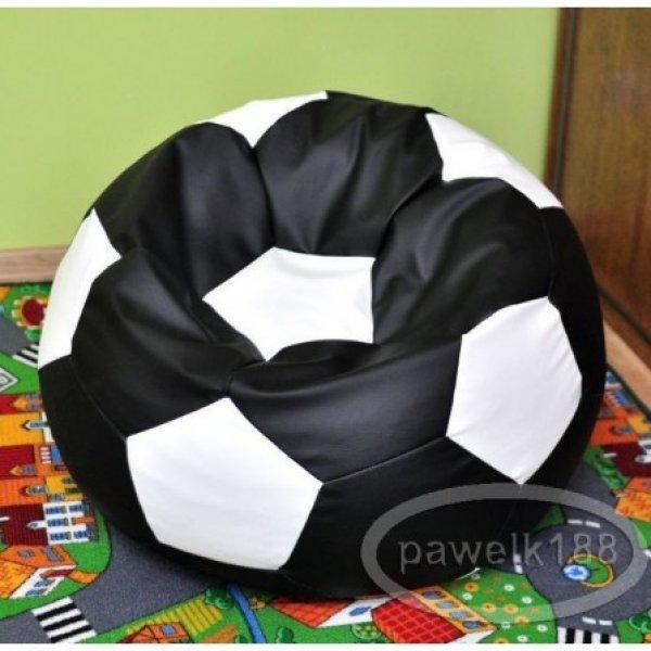 Egat Sedací vak fotbalový míč 300L - 2. JAKOST - černo - bílý