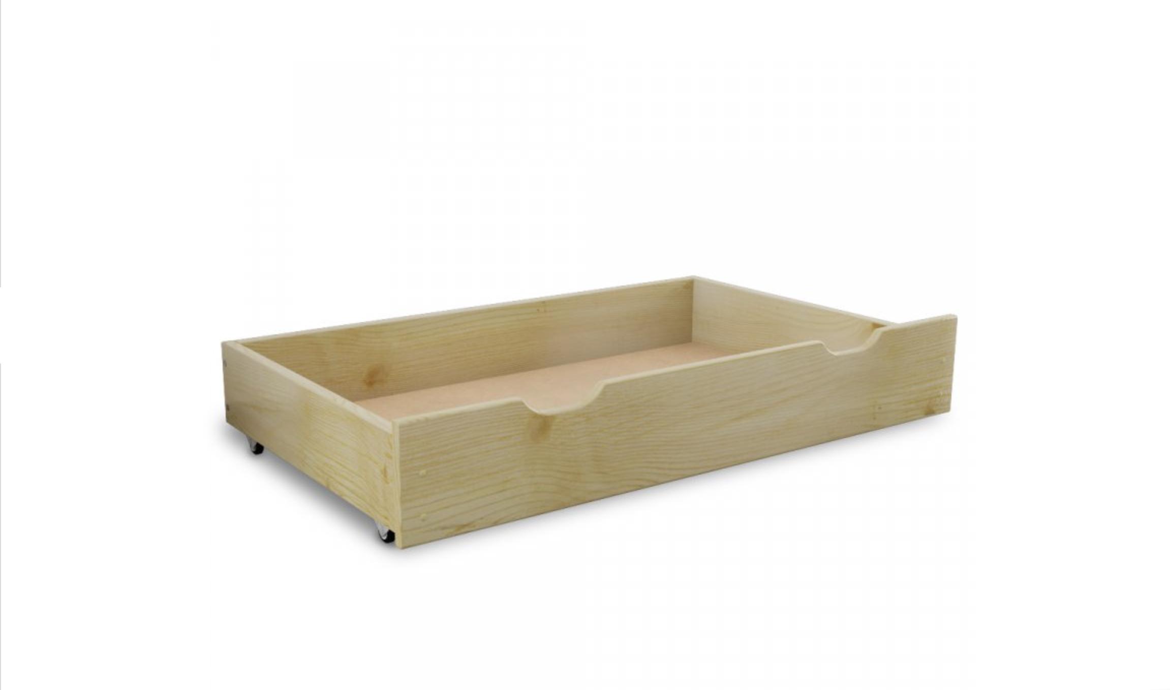 FK Šuplík pod postel z masivu 150 cm - Barva borovice