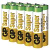 Alkalické baterie - 10 ks - GP Super (AAA) LR03