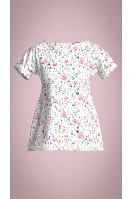triko s kvety hotove Colorway A 0
