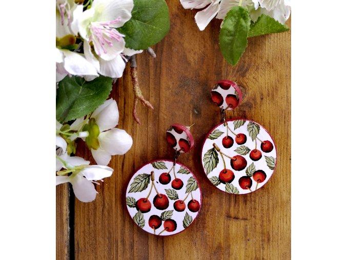 Náušnice Cherry