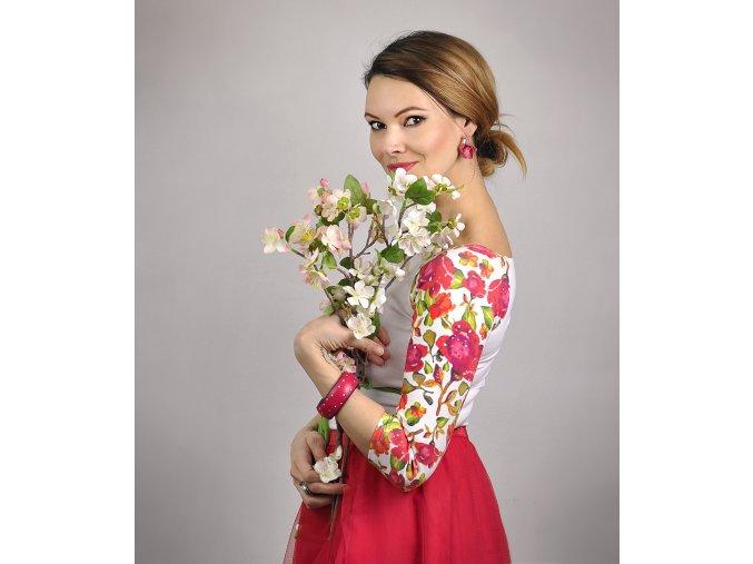 Tričko Blossom Rosee veľkosť M