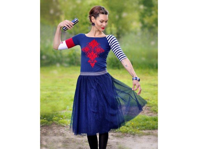 Tričko Scarlet Blue XL