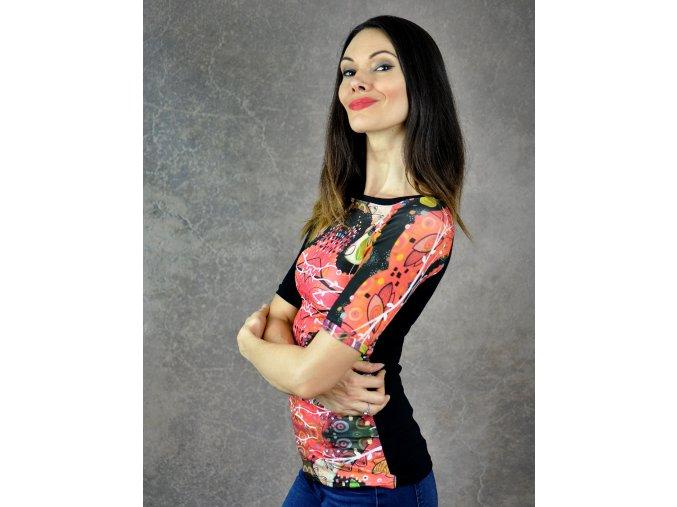 Tričko Red Ornamental L