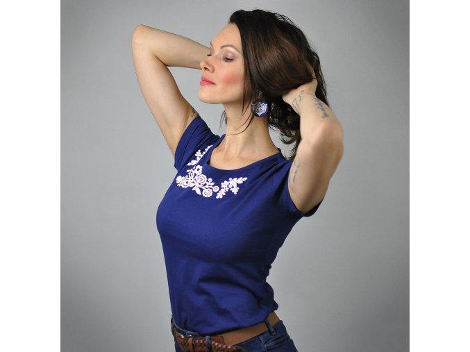 Tričko Lina Blue M