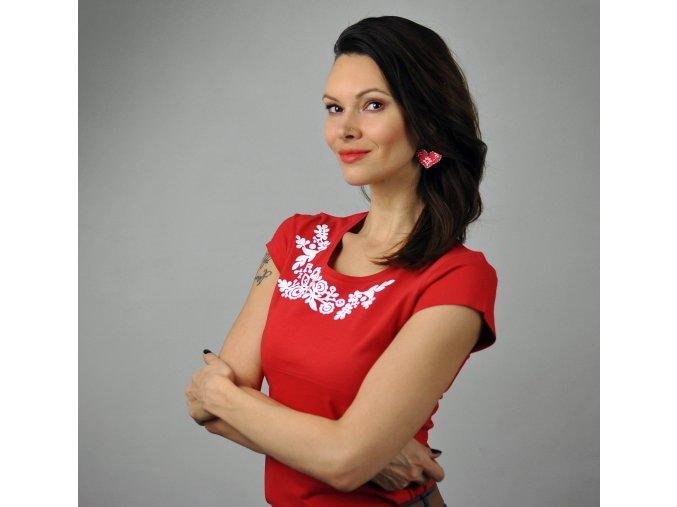 Tričko Lina Red