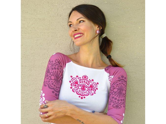 Tričko Rita Ornamental