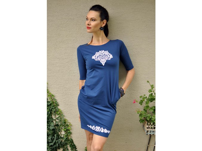 Šaty Ľubieta Blue