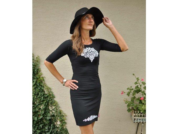 Šaty Ľubieta Black