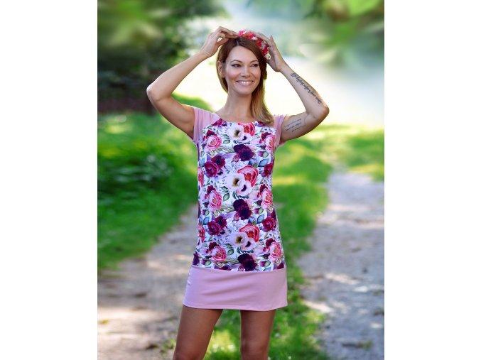 Šaty Petúnia Pink