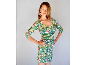 Šaty Tropical