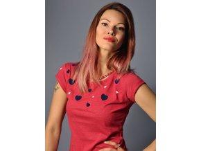 Tričko Májové červené