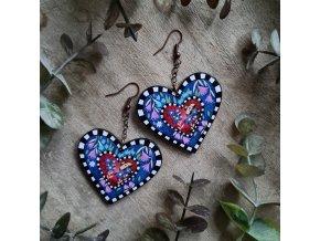 Naušnice Brave Heart