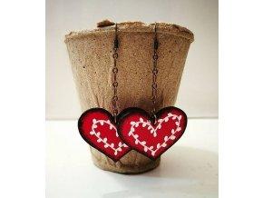Náušnice Folk Heart 1