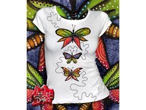 farebny motylci