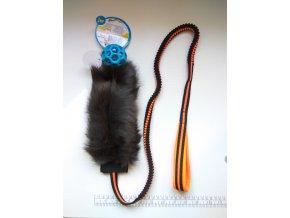 JW Hol-EE děrovaný míč s králíkem long