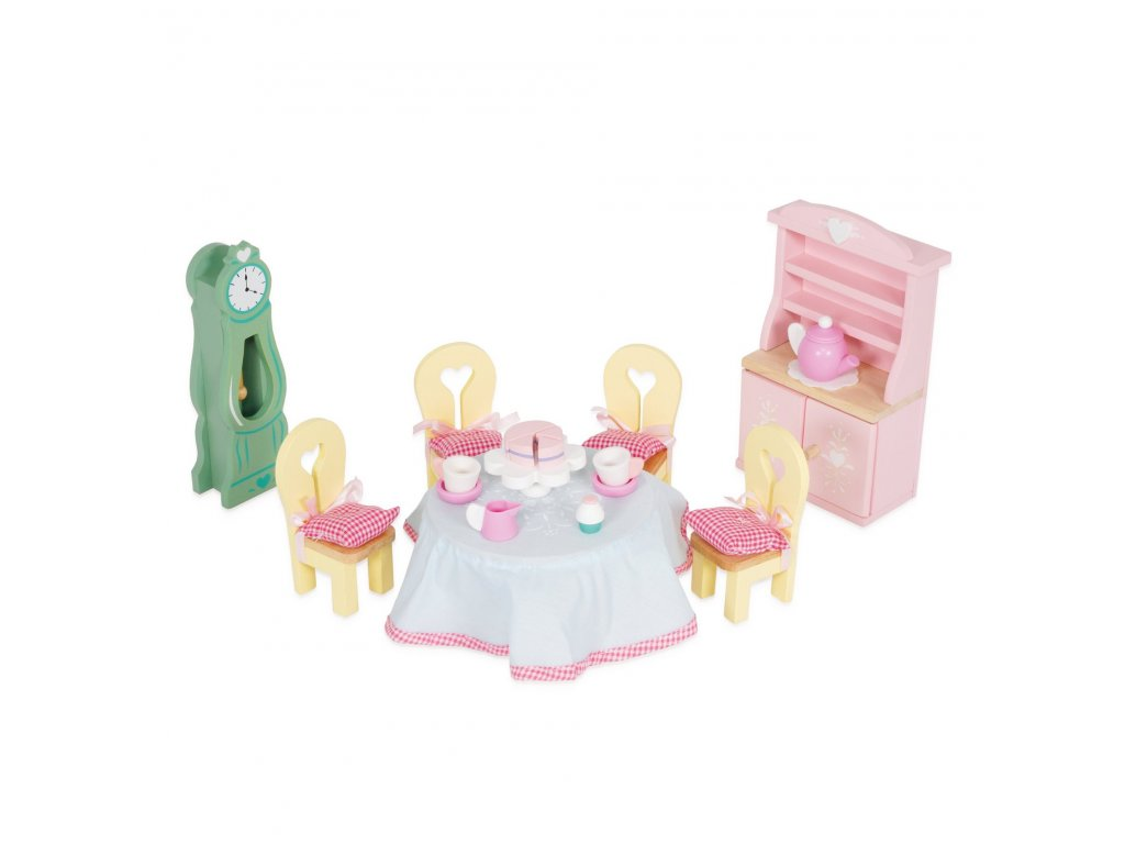 ME056 Daisylane Drawing Room Dining Table Tea Cake Doll House Furniture