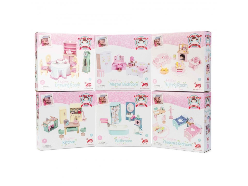 ME058 Daisylane Sitting Room Fireplace Coffee Set Coach Mat Doll House Accessories