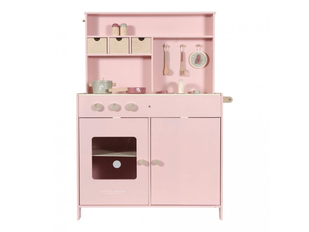 0009534 little dutch toy kitchen pink pink 0 1000