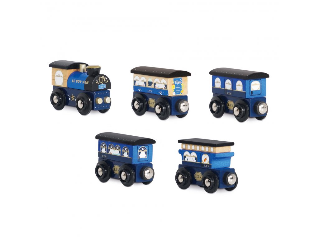 TV712 Blue Train Carriages Full Collection