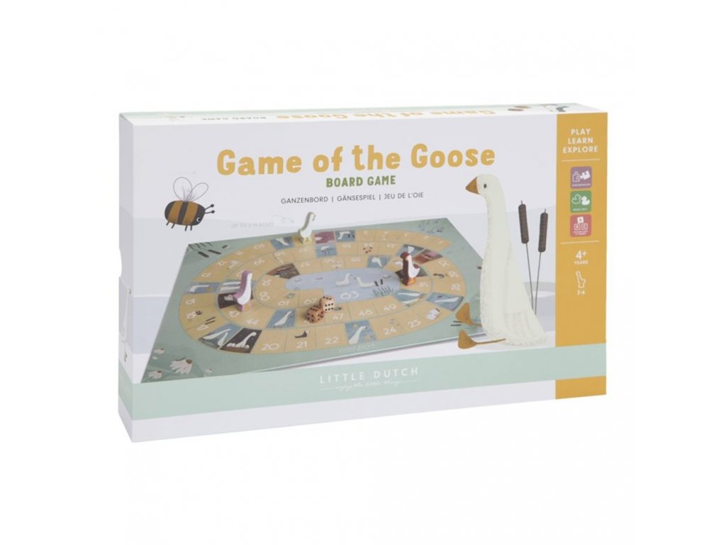 0011921 little dutch game of the goose little goose 0 1000