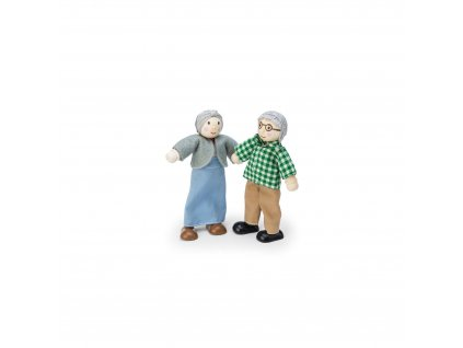 P056 Grandparents Dolls House Wooden