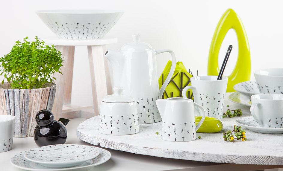 Kolekce Herbs české značky by inspire...porcelán s českou duší