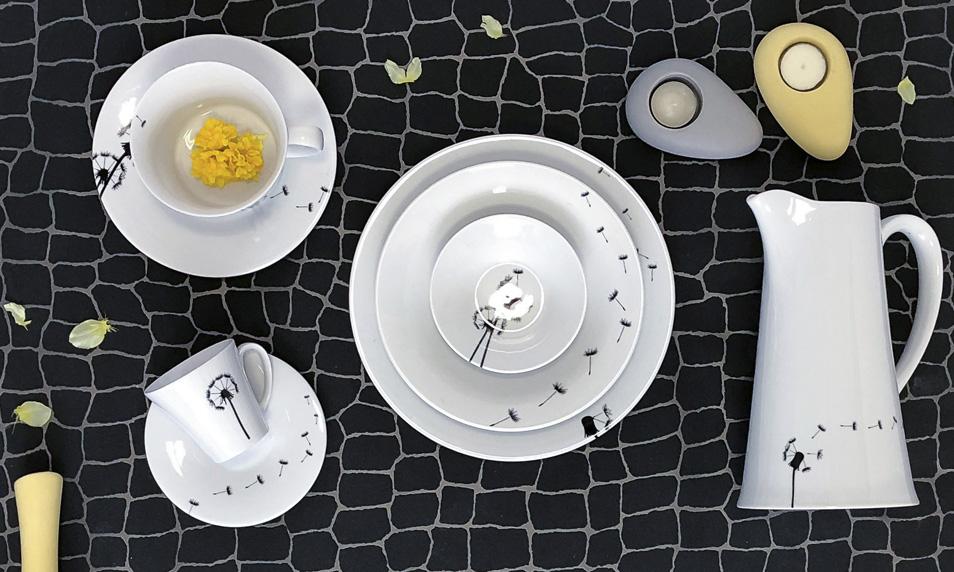 Český porcelán s českým designem kolekce Fly od by inspire